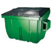 Diversified Plastics 4 Yard Front Loading Dumpster, Green - WRC4-05W