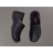 Mozo® 3703-BLK-07 - Women's Forza Slip-On Clog, Leather, Black, Size 7