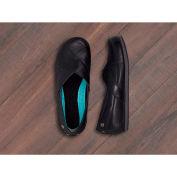 Mozo® 3733-BLK-09 - Women's Sport Slip-On Shoe, Leather, Black, Size 9