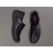 Mozo® 3803-BLK-12 - Men's Forza Slip-On Clog, Leather, Black, Size 12