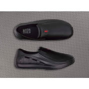 Mozo® 3812-BLK-08 - Men's Sharkz Slip-On Shoe, Synthetic, Black, Size 8
