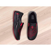 Mozo® 3821-BLK-11 - Men's Skull Slip-On Shoe, Synthetic, Black, Size 11