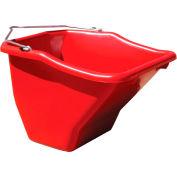 Little Giant Better Bucket BB20RED, Polyethylene, 20 Qt., Red
