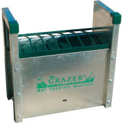 Little Giant Hay Grazer & Feeder 168830, Galvanized Steel