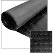 "Little Giant Round Dot Rolled Mat RMDOT349, Non-Porous & Anti-Slip, 39""L X 588""W X 3/16""H"