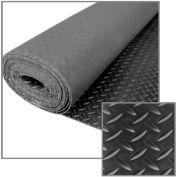 "Little Giant Checker Plate Rolled Mat RMDIA440, Non-Porous & Anti-Slip, 48""L X 480""W X 1/4""H"
