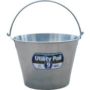 Little Giant Dairy Pail SS9P, Stainless Steel, 9 Qt.
