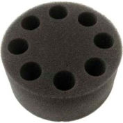 SCILOGEX Foam Test Tube Insert 18900024, For 8 Test Tubes of 20mm Dia., Use with Universal Adapter