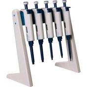 SCILOGEX Linear Pipettor Stand 71000085, Holds Up to 6 MicroPette Pipettors