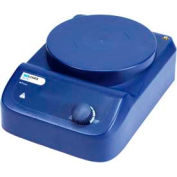 SCILOGEX MS-PB Circular-Top Analog Magnetic Stirrer with Plastic Plate, 86152003, 110V, 50/60Hz