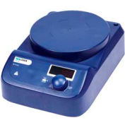 SCILOGEX MS-PA Circular-Top LED Digital Magnetic Stirrer with Plastic Plate, 86152103, 110V, 50/60Hz