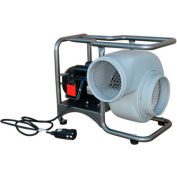 "Air Systems International Saddle Vent 8"" 1390 CFM 115 VAC 60 Hz Economy Single Speed Electric"