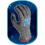 SHOWA Best Glove Size 7 Aegis HP54 10 Gauge Cut Resistant Gray Zorb-IT Sponge Nitrile Palm - Pkg Qty 2