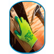 SHOWA Best Glove Size 7 S-TEX 350 Cut Resistant Green Nitrile Palm Coated Work Gloves With - Pkg Qty 2