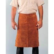 "Radnor 24"" X 24"" Bourbon Brown Premium Side Split Leather Waist Apron With Heavy Duty Waist Strap"