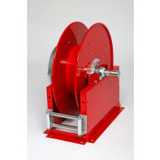 "Duro 3007 Air/Water Large Capacity Retractable Hose Reel, 26"" x 17"" x 24"", 75' Hose Capacity, 300PSI"