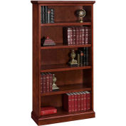"Belmont Bookcase, 7130-072, 36""W x 15""D x 72""H, Executive Cherry"