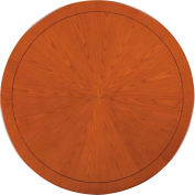 "Belmont Round Conference Table, 7130-90, 48"" diameter x 30""H, Executive Cherry"