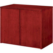 "DMI Saratoga Two Door Cabinet, 36-3/8""W x 20""D x 29-1/2""H, Cherry Finish"