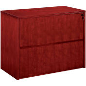 "DMI Saratoga Lateral File, 36""W x 20""D x 29-1/2""H, Cherry Finish"