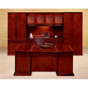 "Del Mar Lateral File Storage Cabinet 36""W x 24""D x 78""H, Cherry Finish"