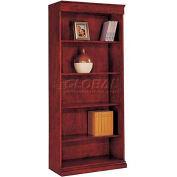 """Del Mar Center Bookcase 33-1/2""""W x 16""""D x 78""""H, Cherry Finish"""
