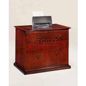 "Del Mar Lateral File 36""W x 24""D x 30""H, Cherry Finish"