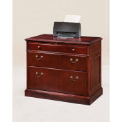 "DMI Oxmoor Lateral File 36""W x 20""D x 30""H Cherry Finish"