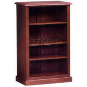 """Governors Series Bookcase 32""""W x 16""""D x 48""""H Mahogany Finish"""