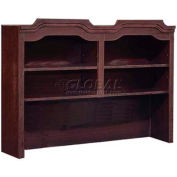 "Governors Series Overhead Storage 60""W x 14""D x 46""H Mahogany Finish"