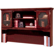 "Governors Series Overhead Storage 66""W x 13""D x 46""H Mahogany Finish"