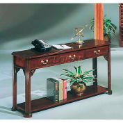 "Governors Series Rectangular Sofa Table 53""W x 16""D x 27""H Mahogany Finish"
