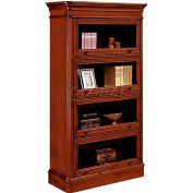 "Flexsteel Bookcase with 4 Doors - 42""L x 16""W x 72""H - Antigua Series"