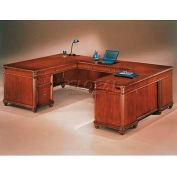 "Flexsteel Executive U Desk, Right - 72""L x 108""W x 30""H - Antigua Series"