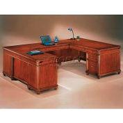 "Flexsteel Executive U Desk, Left - 72""L x 108""W x 30""H - Antigua Series"