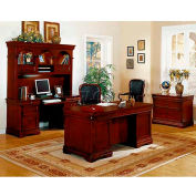 "Flexsteel Executive Desk - 66""L x 36""W x 30""H - Rue De Lyon Series"