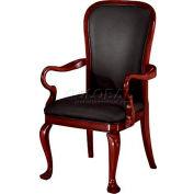 """Rue De Lyon Gooseneck Guest Chair - 24-1/2""""L x 24""""W x 43-1/2""""H"""