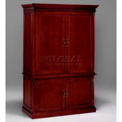 "Flexsteel Media Center Cabinet - 54""L x 24""W x 82""H - Keswick Series"