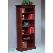 "Flexsteel Left Hand Facing Bookcase - 33-3/4""L x 16""W x 80""H - Keswick Series"