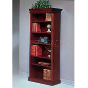 "Flexsteel Right Hand Facing Bookcase - 33-3/4""L x 16""W x 80""H - Keswick Series"
