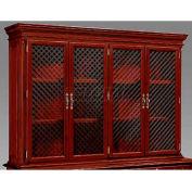 "Keswick Overhead Storage W/ Wire Mesh Doors - 71-3/4""L x 16""W x 50""H"