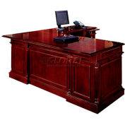 """Flexsteel Right Executive """"L""""Desk - 66""""L x 78""""W x 30""""H - Keswick Series"""