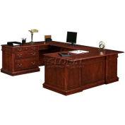"""Keswick Left Lateral File """"U""""Desk - 72""""L x 110""""W x 30""""H"""