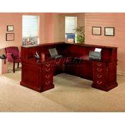 """Keswick Left Reception """"L""""Desk - 72""""L x 84""""W x 44""""H"""
