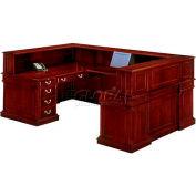 """Keswick Right Reception """"U""""Desk - 72""""L x 110""""W x 44""""H"""