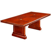 "Keswick 8' Boat-Shaped Expandable Conference Table - 96""L x 48""W x 30""H"