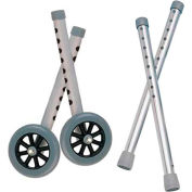 "Deluxe Extended Height  5"" Walker Wheels and Legs Combo Pack"