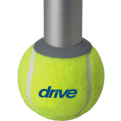 Drive Medical Tennis Ball Glides with Glide Pads in Retail Box, 1 Pair