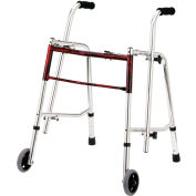 Drive Medical Glider Walker 10219FRD-1, Standard, Flame Red