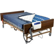 """Med Aire Bariatric Heavy Duty Low Air Loss Mattress Replacement System, 60""""W"""